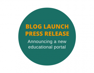 Press release to announce a blog launch