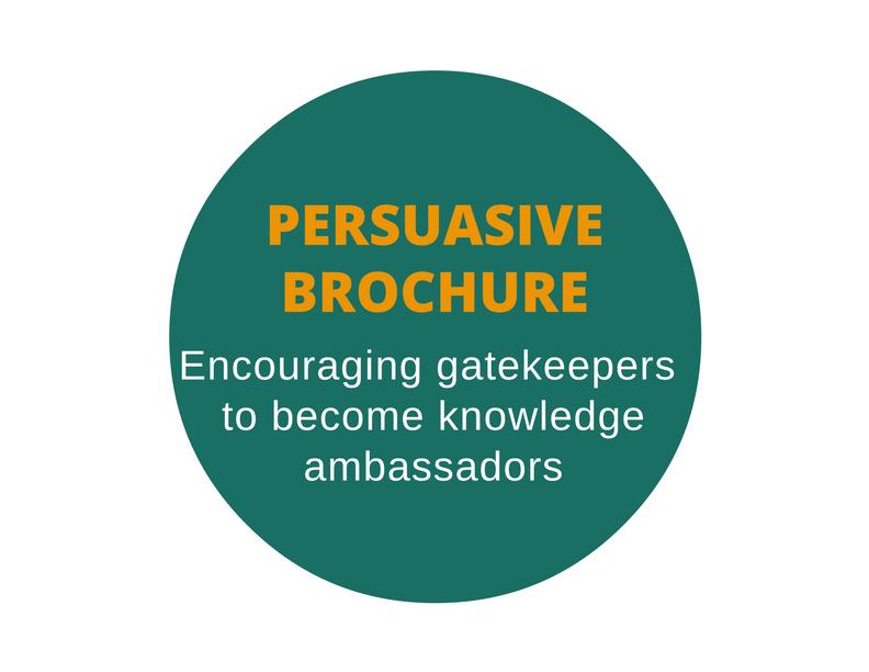 brochure targeting public education leaders