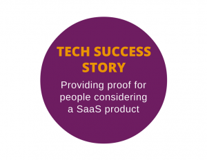 Success story for a technology company