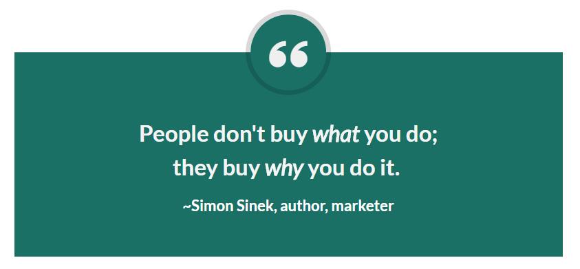 Simon Sinek WHY