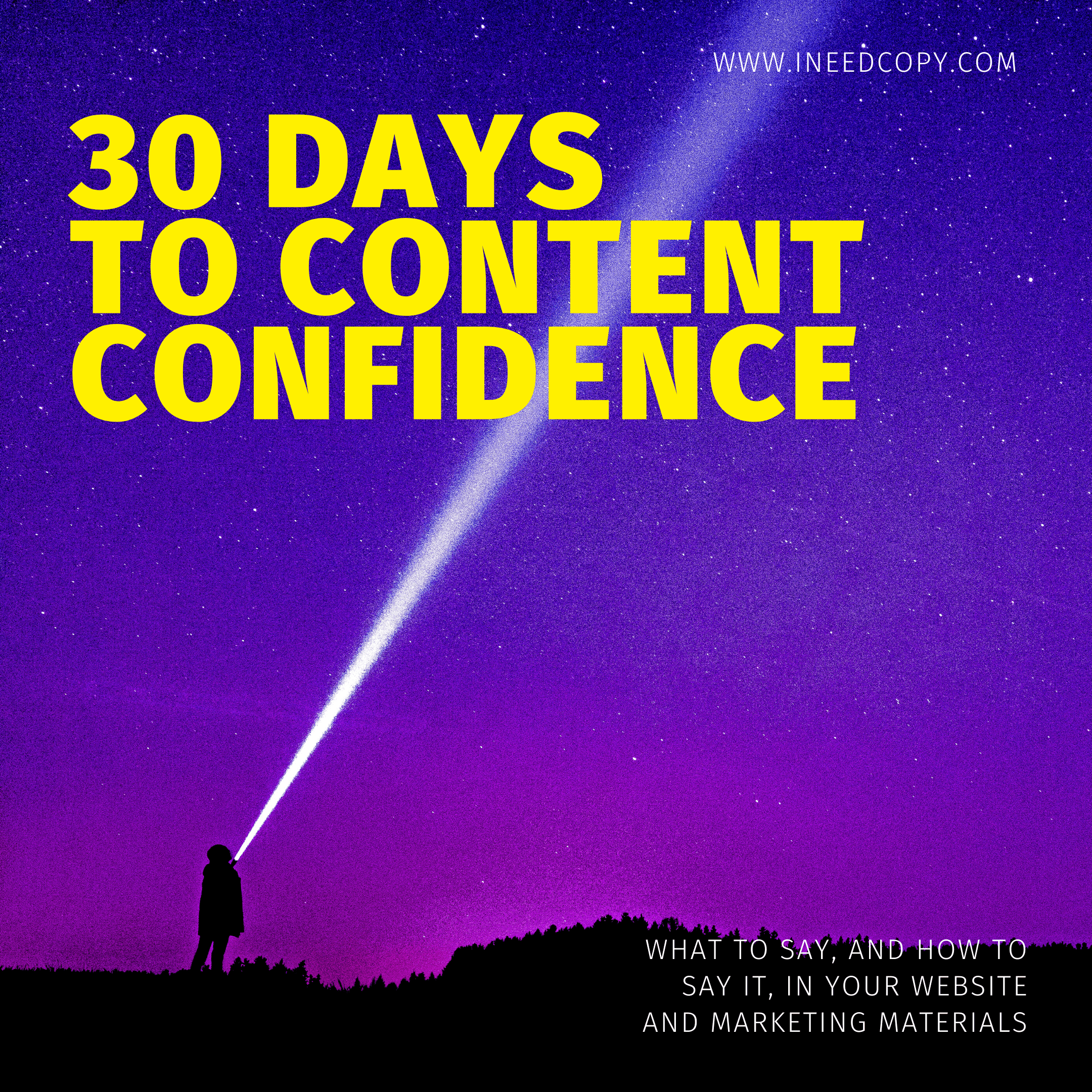 30 Days to Content Confidence