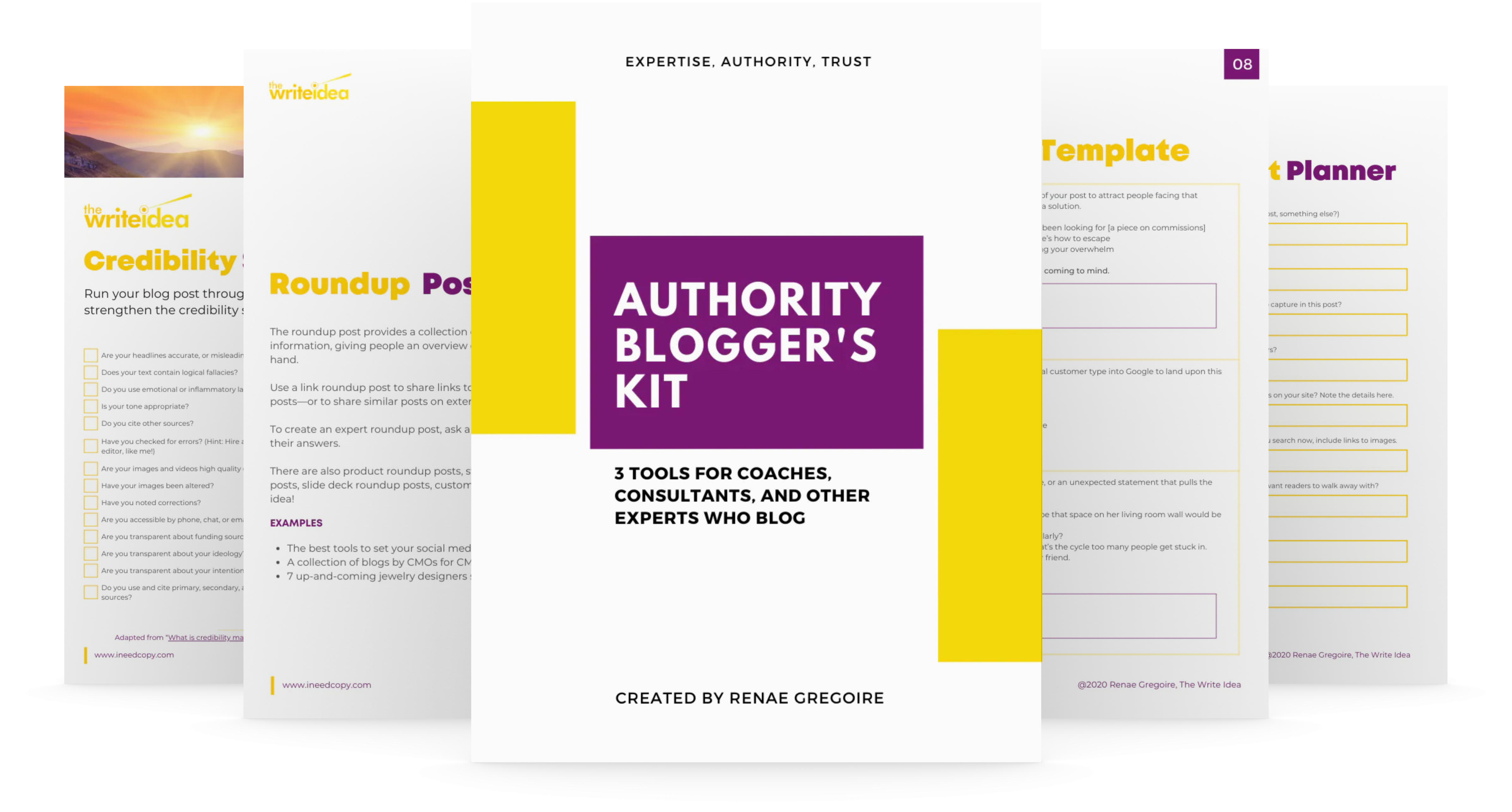 The Authority Blogger's Kit